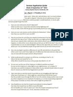 1 Timothy Pt. 3 Sermon Guide (September 22 2013) (1)