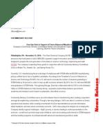 2014 press release - cac grant recipients