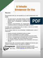 2 A Solucao - Como Emagrecer De Vez-EmagrecerDeVez.com.pdf