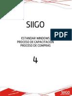 Cartilla 4 - Proceso de Compras Standar Version 6.1