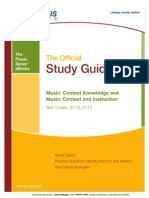 Praxis II Music Content Knowledge eBook