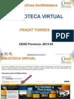 Presentacion Biblioteca 2013-02