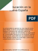 La Educación en La Nueva España