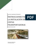 Normativa Para La Instalación de Fajas Transportadoras