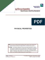 Saudi Aramco - Chemical Physical Properties