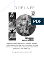 Año de La Fe - Reflexión Para La Acción