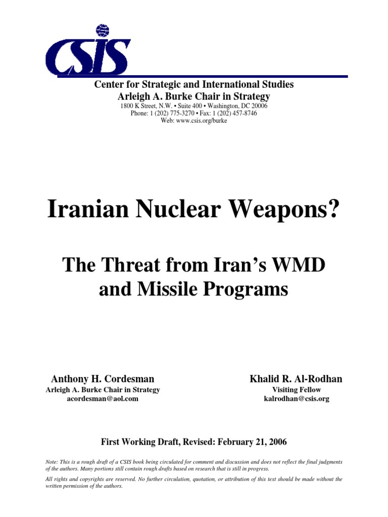 060221 Iran Wmd Nuclear Program Of Proliferation Wiring Diagram Trailer Spares For Sale Venter