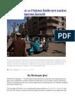 Outcry and Fear as Pakistan Builds New Nuclear Reactors in Dangerous Karachi