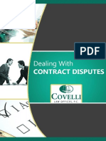 Dealing with Contract Disputes