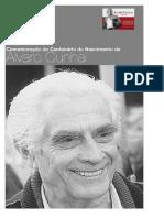 Poster com breve biografia de Álvaro Cunhal