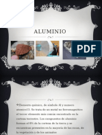 Aluminio sthwrhrwh