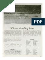 1978-79 University of Kentucky Wildcat Marching Band