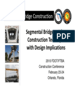 Segmental Bridge Construction
