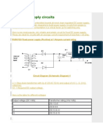 DC Power Supply Circuits