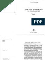Schoenberg - Ejercicios Preliminares de Contrapunto