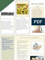 brochure contamination