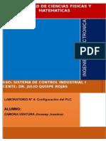 LABORATORIO 4 - CONFIGURACION DE PLC SCHNEIDER