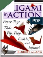 Robert J. Lang Origami in Action