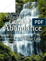 Denise Linn - 21 Days to Fabulous, Glorious Abundance
