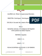 VARIANTES LEXICAS Y FONOLÓGICAS ESPAÑOL ENTRE PAÍSES HISPANOHABLANTES.docx