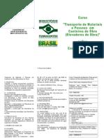 Folder de Curso - Elevadores de Obra - C. Grande - 2013 - Confirmar Inscrição - Hélio Cézar L. Ramos