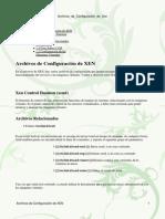 Archivos de Configuración de Xen