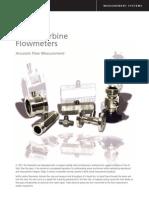 NuFlo Liquid Turbine Flowmeters