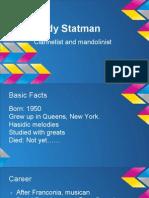 andy statman presentation - google slides