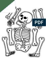 skeleton for halloween