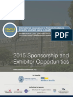 CENTILE 2015 Conference Sponsor and Exhibitors