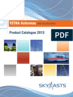 Skymasts Tetra Antenna Product Catalogue 2013