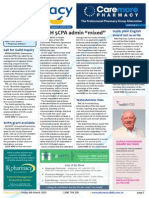 """Pharmacy Daily for Fri 06 Mar 2015 - DoH 5CPA admin """"mixed"""", Call for Guild inquiry, Health spend $255b in 2054, Events Calendar, and much more"""