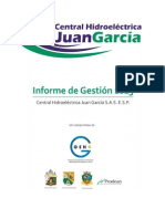 Informe Gestion Microcentral Juan Garcia 2013