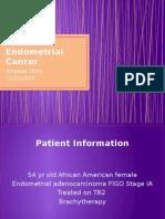 endometrial case presentation done