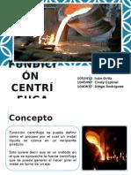 Fundición Centrífuga