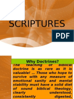 The Doctrine of Scriptures Latest