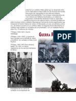 La Segunda Guerra Mundial Fue Un Conflicto Militar Global Que Se Desarrolló Entre 1939 y 1945
