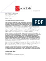 ames scholarship letter of rec
