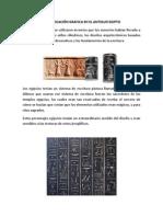 Comunicación Grafica en El Antiguo Egipto