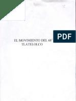 VII El Movimiento Del 68, Tlatelolco México
