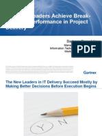 CACIO15 Presentation - How Top Leaders Achieve Break Through Performance in Project Delivery -Gomolski