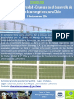 2014 11 09 Bioenergía Universidad Empresa