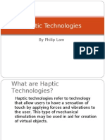 Haptic Technologies