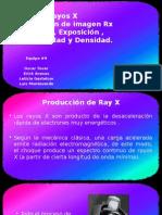 Haz de Rayos x y Formacion de Imagen