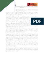 Movimientos Peruanos Al ALBA Agradecen Al Pueblo y Gobierno Venezolano Por La Dignidad