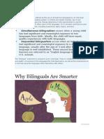 Bilingual is m