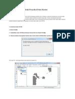 ArcGIS 10 Mengubah Proyeksi Data Raster