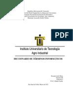Diccionario Terminos Sistemas Operativos Iutai Pnfi
