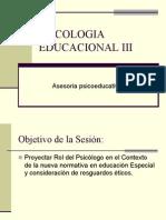 Evaluacio Psicologica y Normativas Vigentes Copia (1)