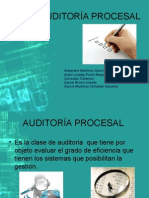 AUDITORIA PROCESAL